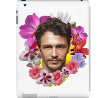 James Franco - Floral iPad Case/Skin