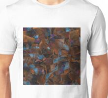 Fragments In Bronze Unisex T-Shirt