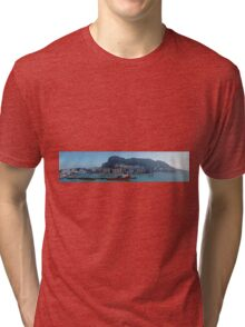Panorama of Gibraltar from the Sea  Tri-blend T-Shirt