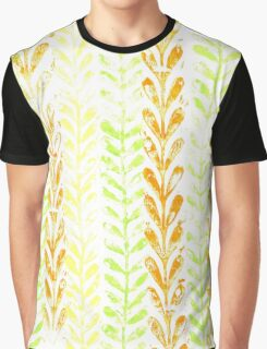 Vine Pattern - Spring Graphic T-Shirt