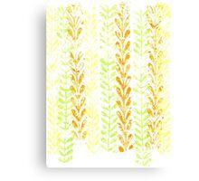 Vine Pattern - Spring Canvas Print