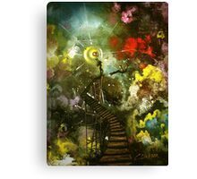 A Leap of Faith — The Space Within Series Canvas Print