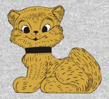 Cat clip art One Piece - Short Sleeve