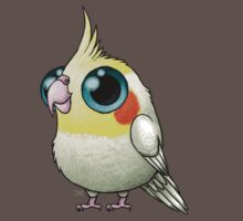 Cute Fat Cockatiel One Piece - Short Sleeve