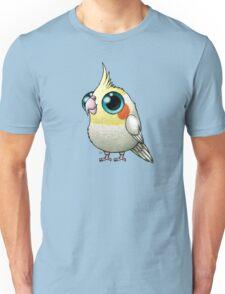 Cute Fat Cockatiel Unisex T-Shirt