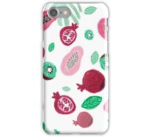 Fruits and leaves iPhone Case/Skin