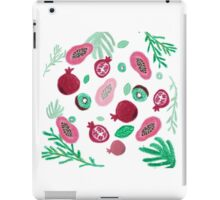 Fruits and leaves iPad Case/Skin