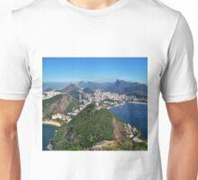 Beautiful Rio de Janeiro mountains Unisex T-Shirt