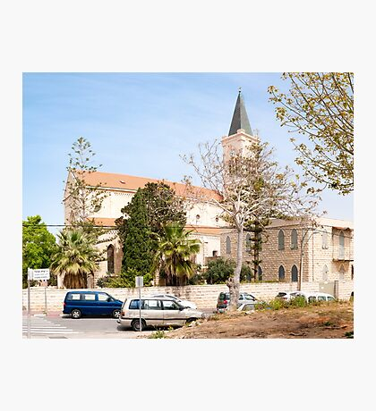 St Anthony's Catholic Parish Church, On Yefet street, Jaffa, Israel  Photographic Print