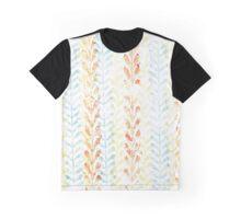 Vine Pattern - Summer Pastel Graphic T-Shirt