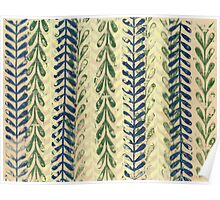 Vine Pattern - Nature Poster