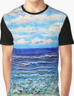 Green Sea Graphic T-Shirt