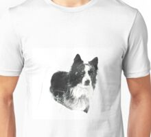 Working Winter Collie Unisex T-Shirt