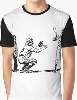 Baseball player bat Graphic T-Shirt