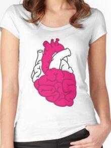 Smart Heart Women's Fitted Scoop T-Shirt