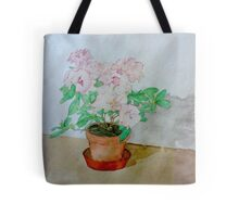 Watercolour Plant (Azalea) Tote Bag