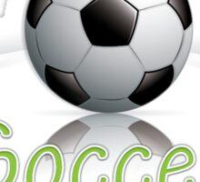 Soccer ball graphics Sticker
