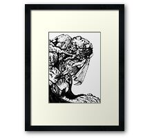 The pathfinder Chronicle 9 - Hungry Flesh Framed Print