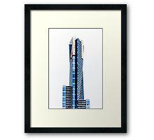 Eureka Tower by Gaye G Framed Print