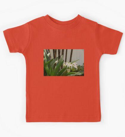 A Garden Like an Ikebana Flower Arrangement Kids Tee