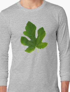 The Leaf Of Fig Tree Long Sleeve T-Shirt