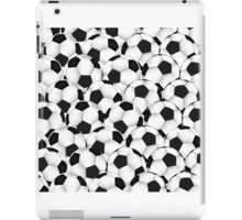 Huge collection of soccer balls iPad Case/Skin