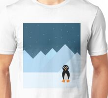 Penguin in the South pole Unisex T-Shirt