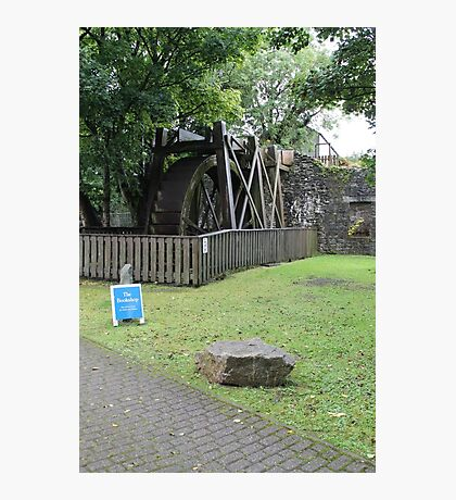 Water wheel Mill on the Fleet Photographic Print