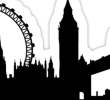 London City Skyline Sticker