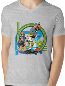 Water skiers Mens V-Neck T-Shirt