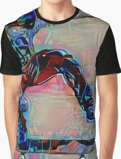 Graffiti Sk8er Boi Graphic T-Shirt