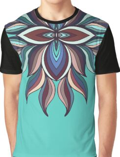 Abstract colorful symmetric kaleidoscope element. Mandala design Graphic T-Shirt