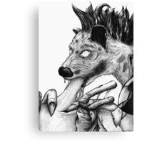 The pathfinder Chronicle 3 - Gnoll Canvas Print