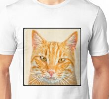 Beautiful ginger cat Unisex T-Shirt