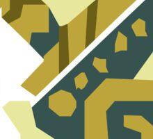 Zinogre Monster Hunter Design  Sticker