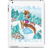 Water jumping iPad Case/Skin