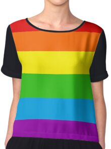 LGBT+ Chiffon Top
