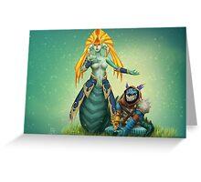 Siren voice - Dota2 Greeting Card