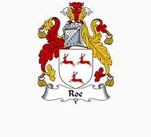 Roe Coat of Arms / Roe Family Crest Unisex T-Shirt