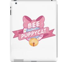 Bee and Puppycat Logo iPad Case/Skin