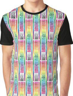 Ahh Bos Cee Dah Graphic T-Shirt