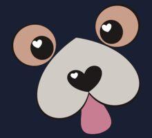 Doggie Kiss?  Doggie Hug? Kids Tee