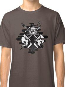 Illuminati Skull Classic T-Shirt