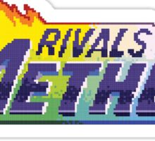 Rivals of Aether Logo Pixel print Sticker