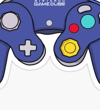 Nintendo Gamecube Controller Design Sticker