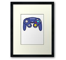 Nintendo Gamecube Controller Design Framed Print