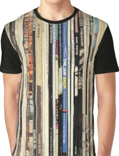 Vinyl Record Collector   Graphic T-Shirt