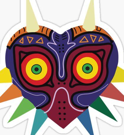 Majoras Mask Vector Print Zelda Sticker
