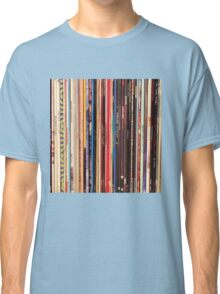 Vinyl Records Indie Rock  Classic T-Shirt