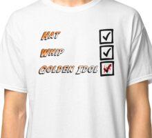 Indiana Jones Checklist Classic T-Shirt